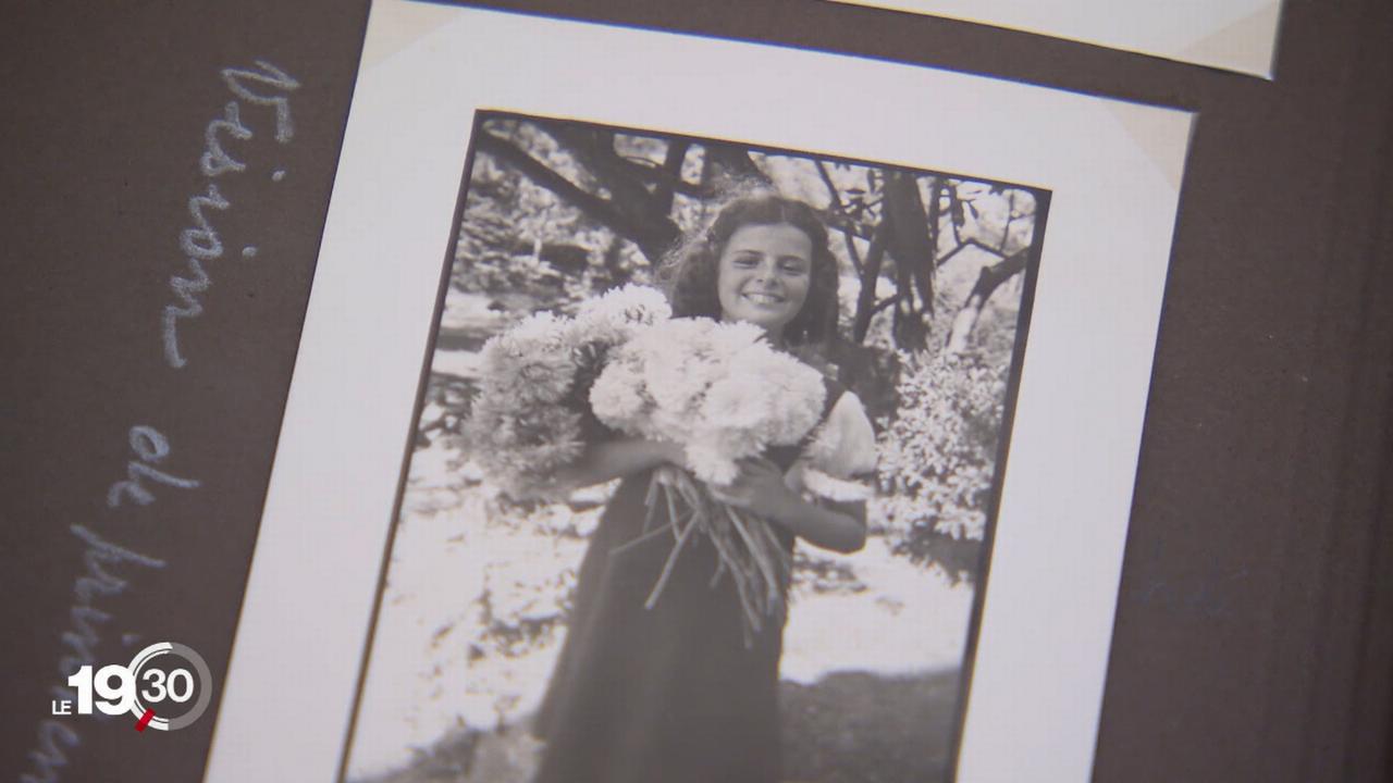 Hélène Spierer, l'une des rares Suissesses sauvées des camps nazis. [RTS]