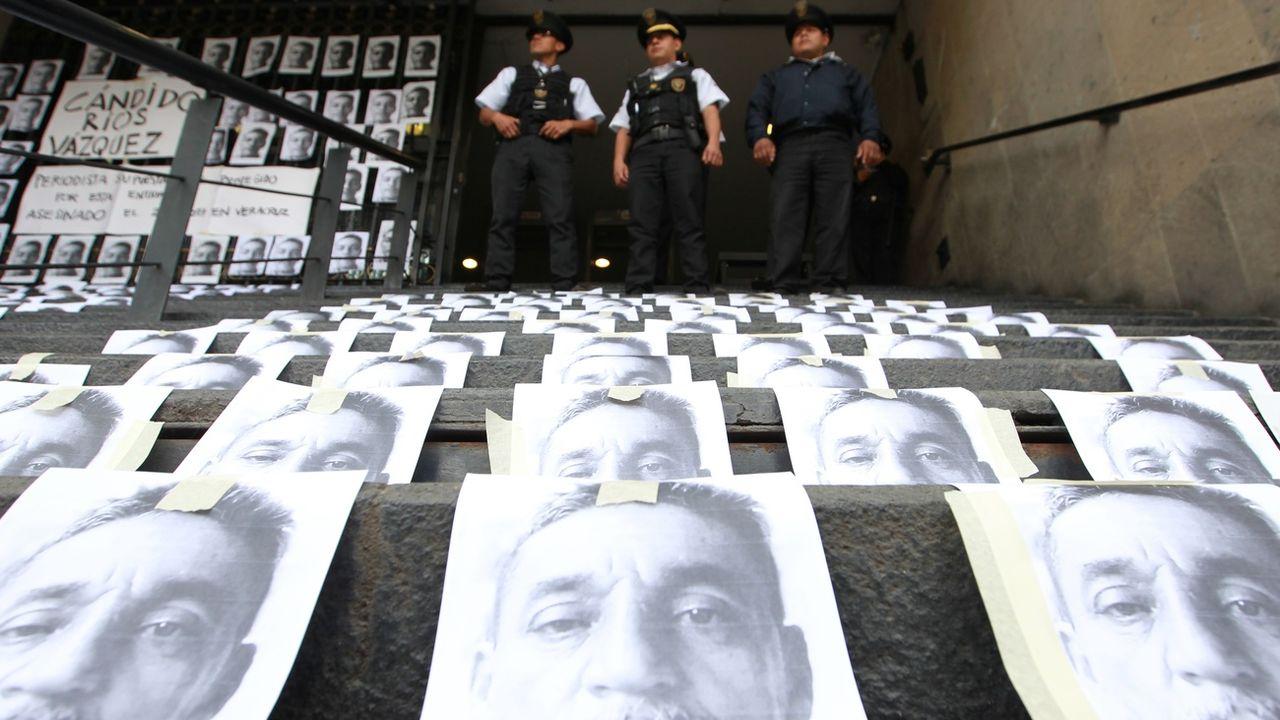 Le journaliste Rios Vazquez a été tué en 2017. [Mario Guzmán - Keystone]