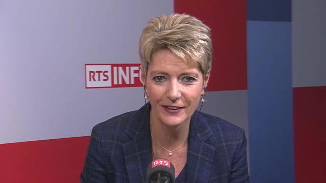 La campagne sur la norme pénale anti-raciste est lancée: interview de Karine Keller-Sutter [RTS]