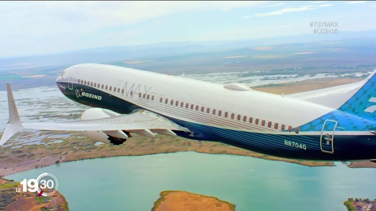 Boeing suspend la production de son modèle d'avion 737 MAX [RTS]