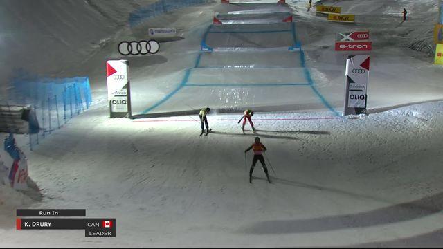 Arosa (SUI), finale messieurs: Alex Fiva (SUI) sur le podium, Kevin Drury (CAN) s'impose [RTS]