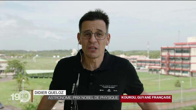 Cheops entré en orbite: les explications de Didier Queloz. [RTS]