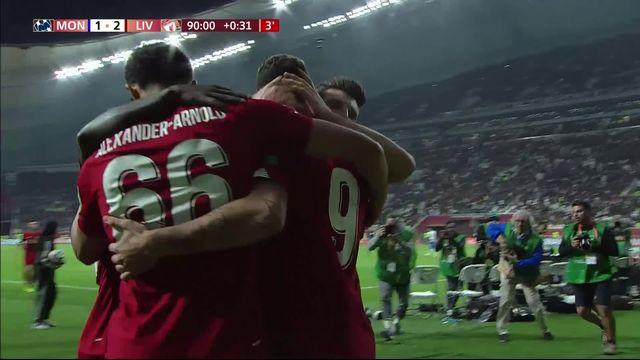 Mondial des clubs, demi-finale:  Liverpool – Monterrey 2-1 (1-1) [RTS]