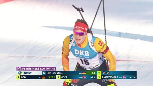 Annecy – Le Grand Bornand (FRA), sprint messieurs: la victoire pour Benedikt Doll (GER) [RTS]
