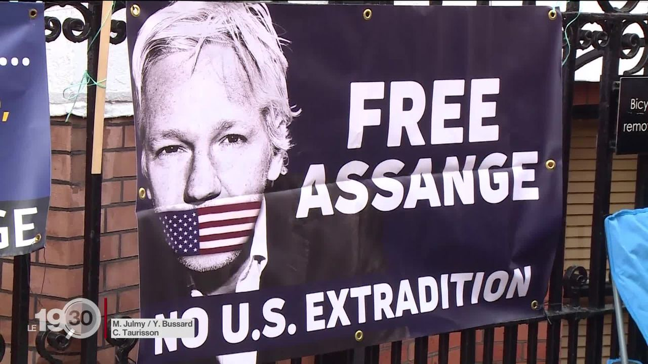 Le père de Julian Assange s'inquiète pour l'état de santé de son fils [RTS]