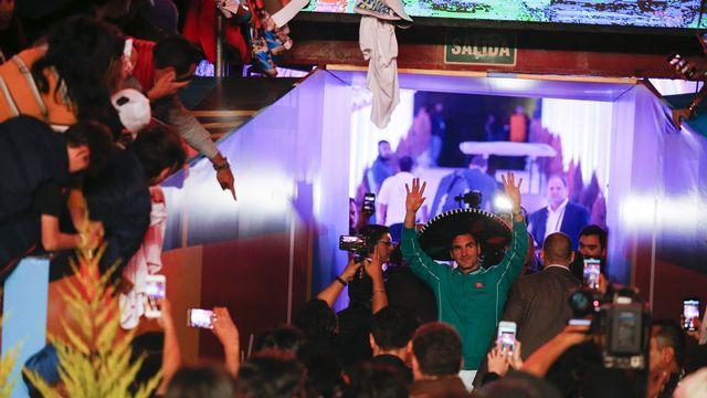 Federer a pu constater sa popularité lors de sa récente tournée en Amérique latine. [Rebecca Blackwell - Keystone]