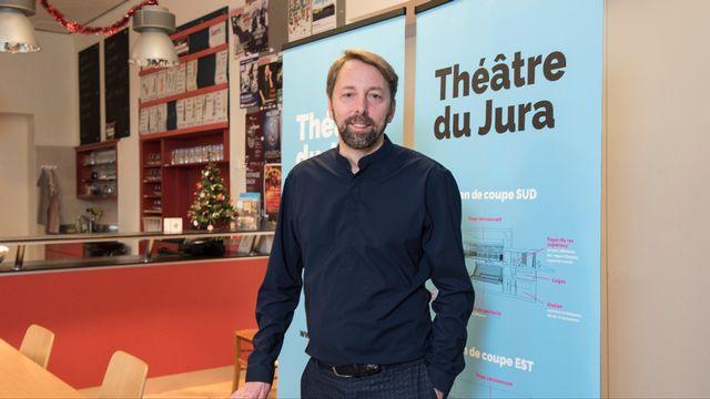 Le metteur en scène et comédien neuchâtelois Robert Sandoz a été nommé à la tête du Théâtre du Jura.  [PierreMontavon - Théâtre du Jura]