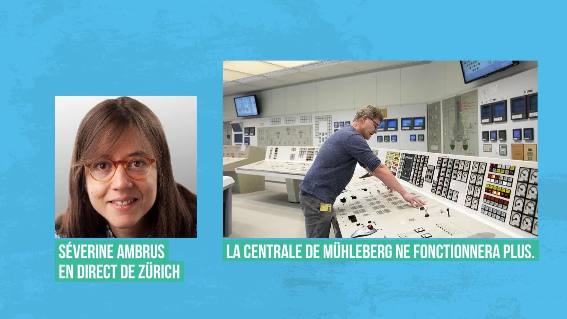 La Suisse dit adieu à l'une de ses quatre centrales nucléaires