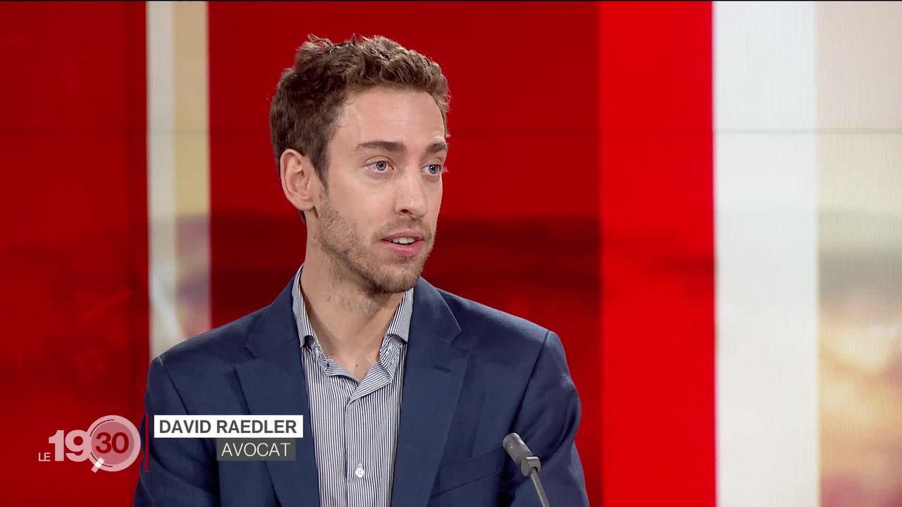 David Raedler, avocat, décrypte la condamnation de l'État néerlandais par la Cour suprême. [RTS]