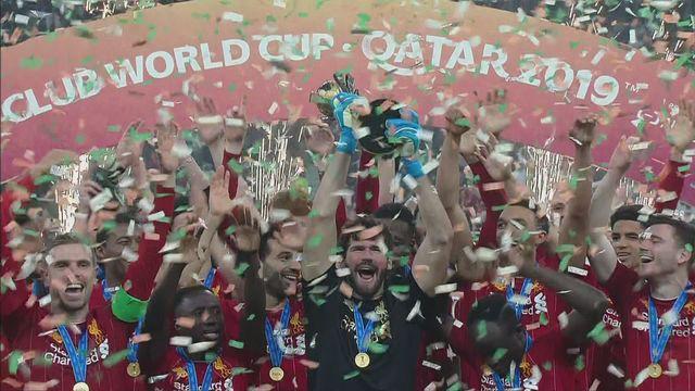 Finale, Liverpool - Flamengo (1-0): la joie des Reds en soulevant le trophée! [RTS]