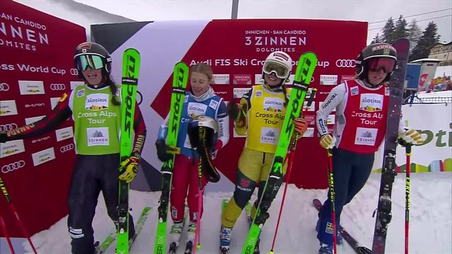 Innichen (ITA), finale dames: Victoire pour Fanny Smith (SUI) [RTS]