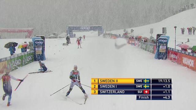 Planica (SLO), sprint dames par équipe: Doublé Suédois devant la Suisse 3e [RTS]