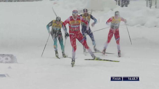 Planica (SLO), sprint messieurs par équipe: Victoire de la Norvège, la Suisse 6e [RTS]