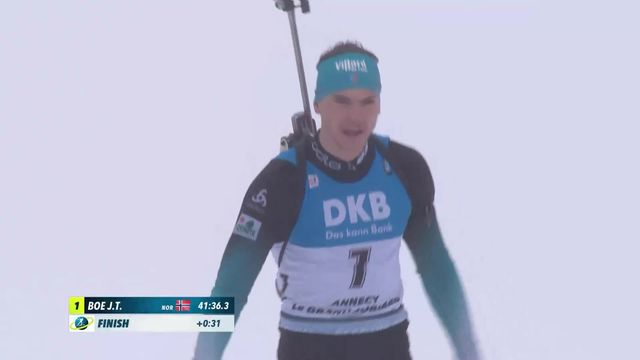 Annecy – Le Grand Bornand (FRA), 15km messieurs: Johannes Boe (NOR) s'impose [RTS]