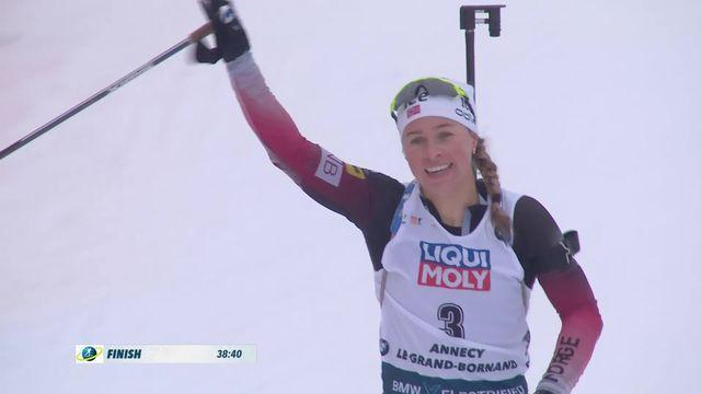 Annecy – Le Grand Bornand (FRA), 12.5km dames: Eckhoff (NOR) remporte la course [RTS]