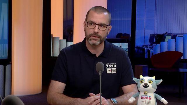 L'invité sport - Grégoire Curchod, responsable communication des JOJ [RTS]