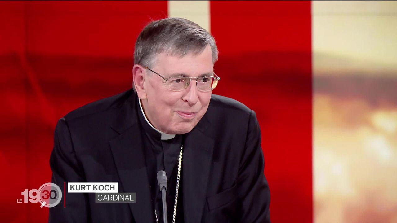 Retour sur le pontificat du pape François avec le cardinal suisse Kurt Koch. [RTS]