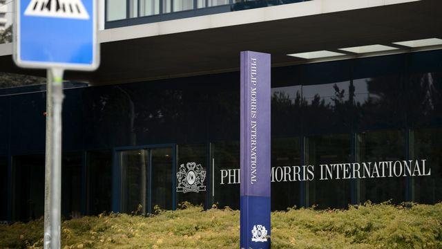 Le siège de Philip Morris International (PMI) à Lausanne. [Laurent Gilliéron - Keystone]