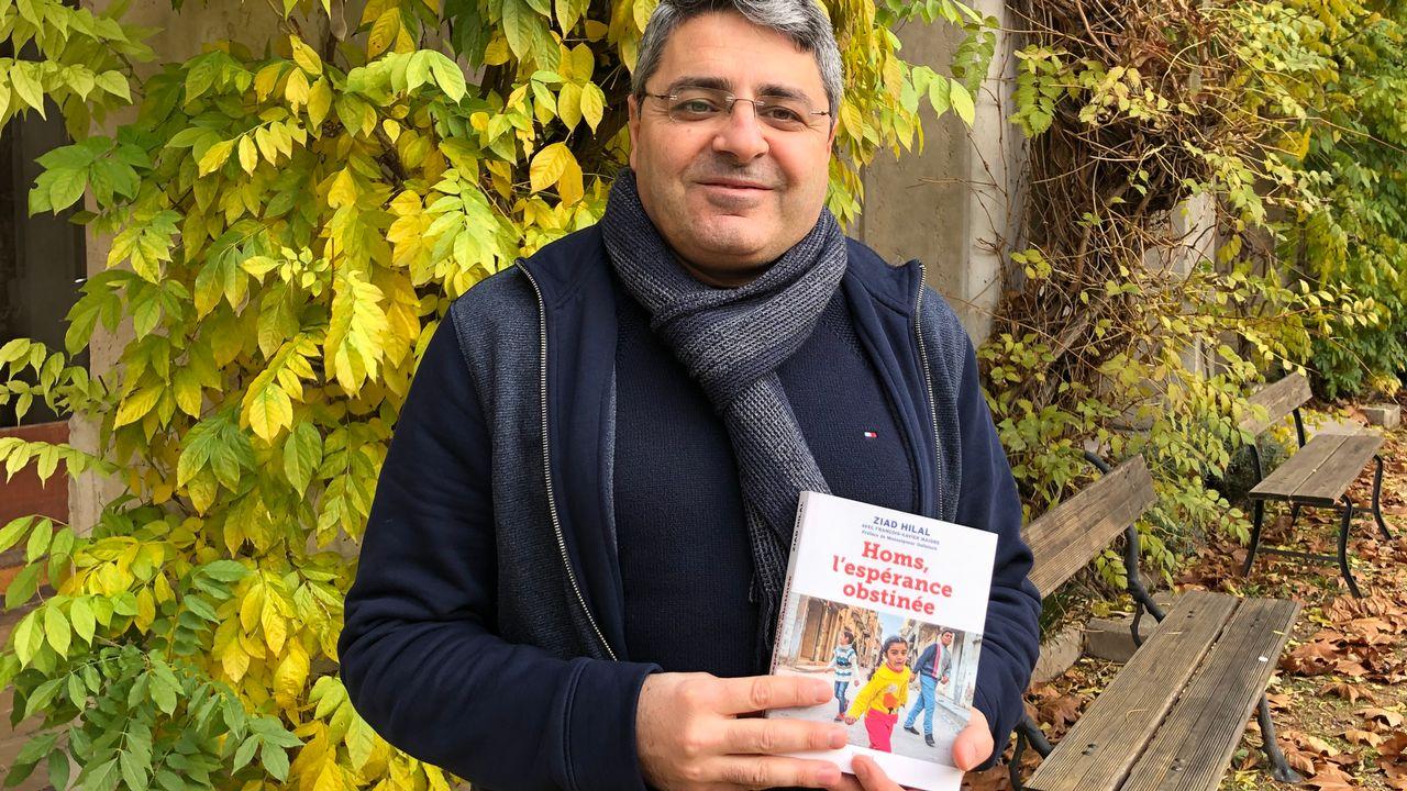 """Ziad Hilal: prêtre syrien, auteur de """"Homs, l'espérance obstinée"""". [G. Desarzens - G. Desarzens]"""