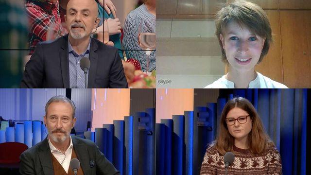Mehmet Gultas, Cléo Moulin, Knut Schwander et Julie Kummer. [RTS]