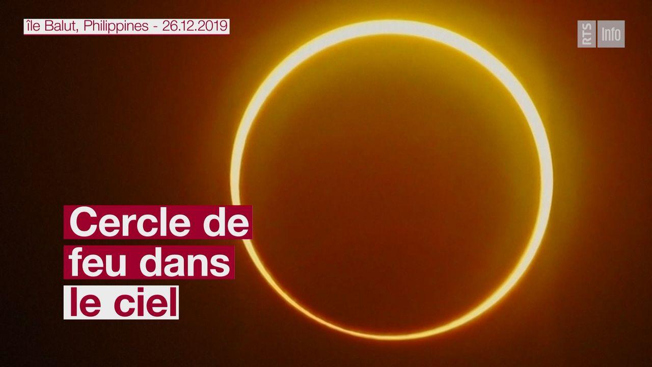 Une éclipse visible en Asie [RTS]