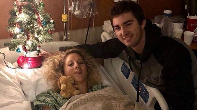 Neff a dû rester quelques jours à l'hôpital après sa mésaventure [RTS- Compte officiel Jolanda Neff]
