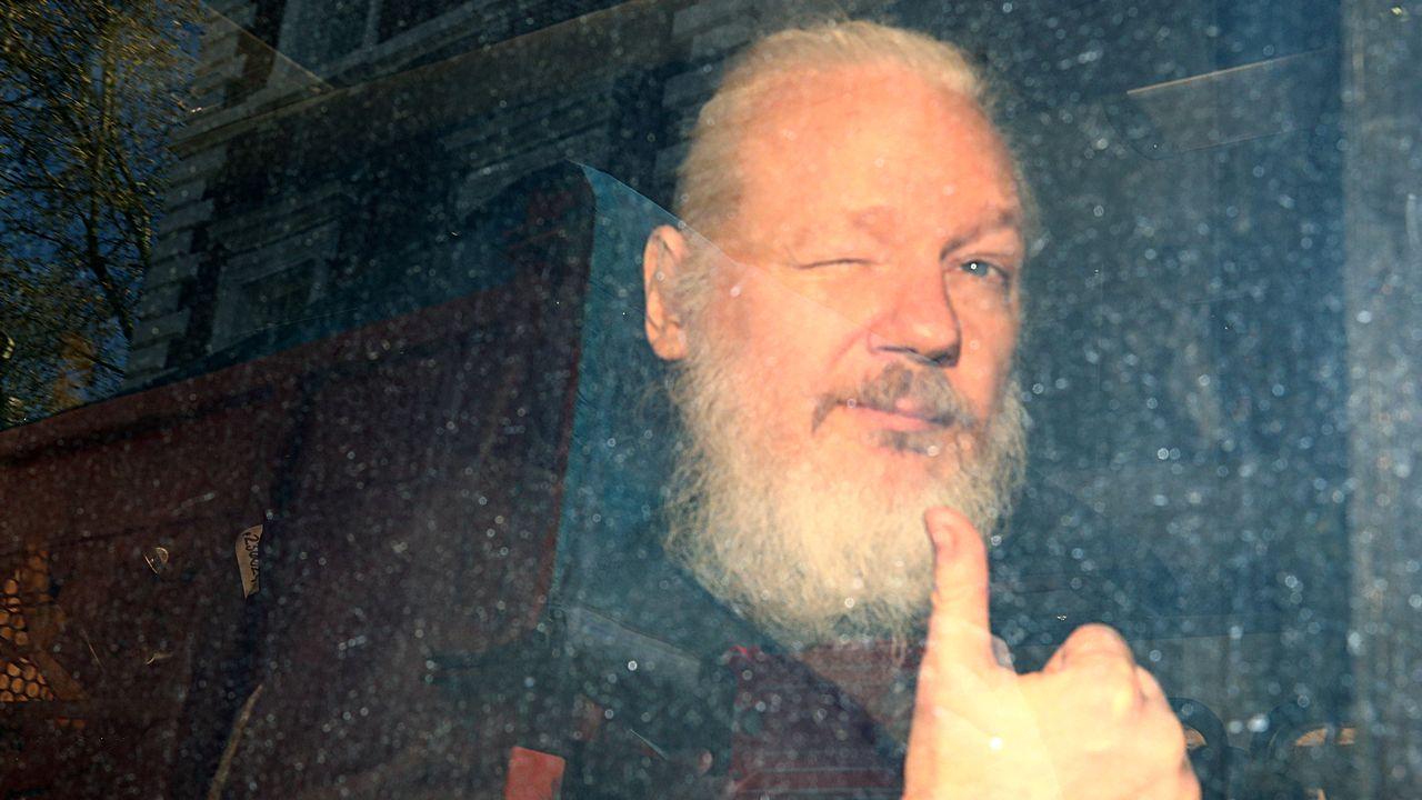 Julian Assange, fondateur de WikiLeaks. [Hannah McKay - Reuters]