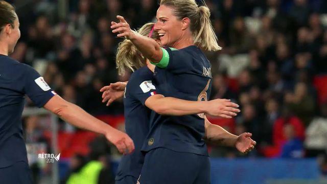 Rétro 2019: coupe du monde féminine,  la ferveur [RTS]