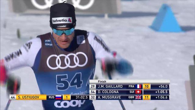 Toblach (ITA), 15km messieurs: 16e place pour Dario Cologna (SUI) [RTS]