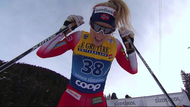 Toblach (ITA), 10km dames: Therese Johaug prend la 1ère place [RTS]