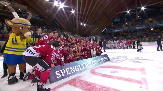 Finale, Team Canada - Trinec (4-0): 16e sacre à Davos pour le Team Canada! [RTS]