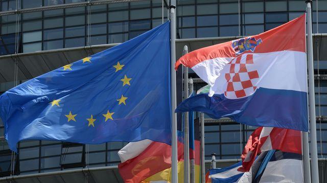 La Croatie prend la présidence de l'Union européenne. [Patrick Seeger - EPA/Keystone]