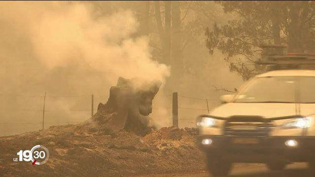 Les incendies ont fait de nouvelles victimes en Australie. [RTS]