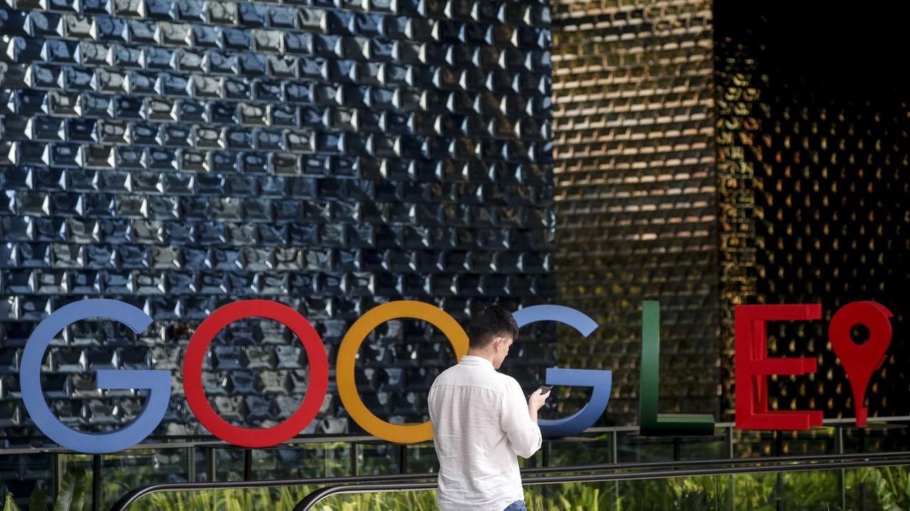 Les locaux de Google à Singapour, photographiés le 6 décembre 2019. [Wallace Woon - EPA]