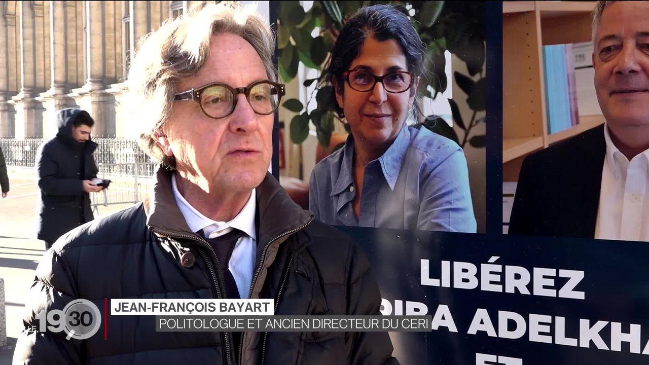 Soupçonnée d'espionnage, la chercheuse franco-iranienne détenue depuis plus de 7 mois à Téhéran a entamé une grève de la faim. [RTS]