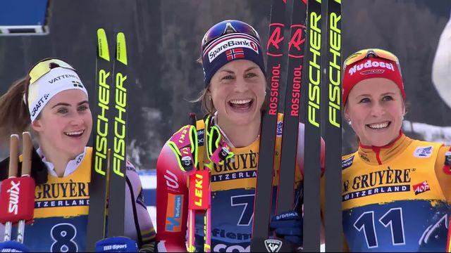 Val di Fiemme (ITA), Mass Start dames: la victoire pour Jacobsen (NOR) [RTS]