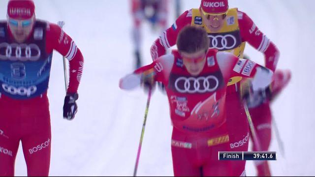 Val di Fiemme (ITA), Mass Start messieurs: Johannes Klaebo (NOR) s'impose, Dario Cologna 6e [RTS]