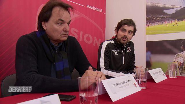 Super League: le FC Sion présente son nouvel entraîneur, Ricardo Dionisio [RTS]