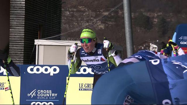 Val di Fiemme (ITA), finale dames: victoire de Lampic (SLO) devant Jacobsen (NOR) 2e et Diggins (USA) 3e [RTS]