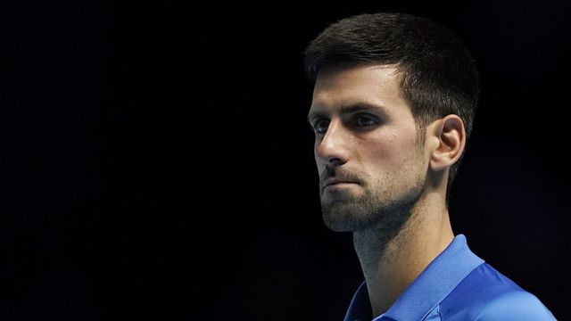 """Djokovic: """"C'est difficile de reporter car il y a un calendrier à respecter (...) et que beaucoup de choses sont en jeu"""" [Will Oliver - Keystone]"""