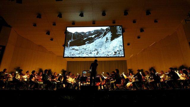 Le Festival Menuhin de Gstaad, édition 2004. [Monika Flueckiger - Keystone]
