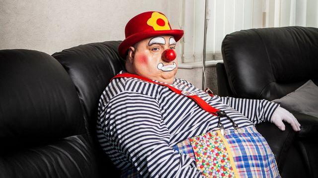 Rob Bowker, ou le blues des clowns. [Benjamin Luis - RTS]