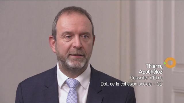 Expulsion de seniors : Interview du conseiller d'Etat en charge du dossier [RTS]