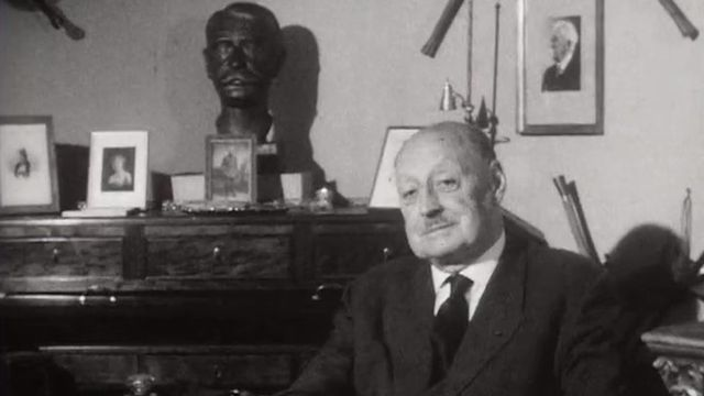 Francis Marius Messerli, fondateur du Comité olympique suisse, en 1962. [RTS]