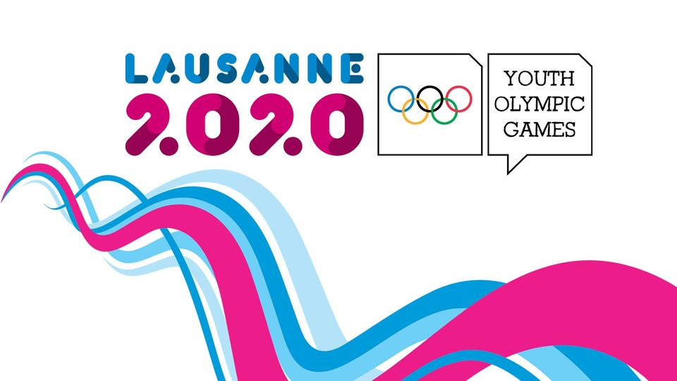 Visuel des Jeux olympiques de la jeunesse 2020 à Lausanne. [lausanne2020.sport]