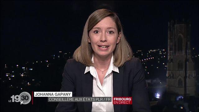 """Johanna Gapany """"Pour changer les choses il faut passer par le système qui nous donne des droits, un parcours constructif."""" [RTS]"""