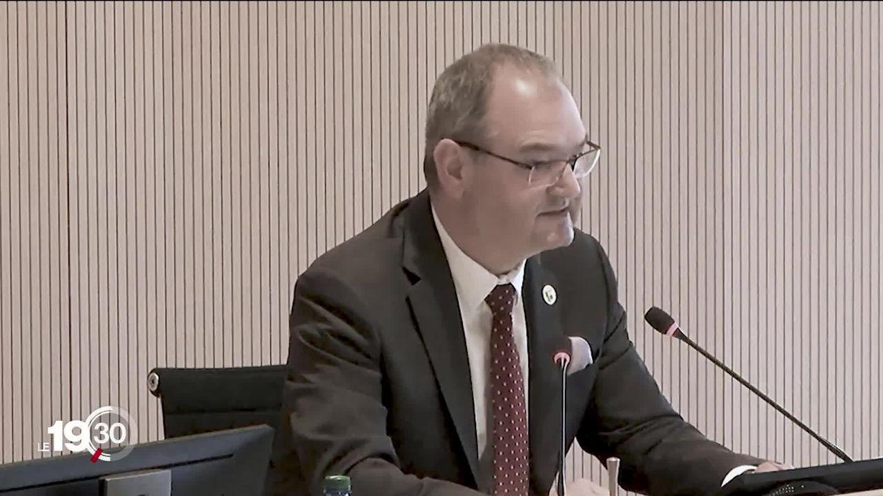 Le Président du Grand Conseil vaudois, Yves Ravenel, dans la tourmente. [RTS]