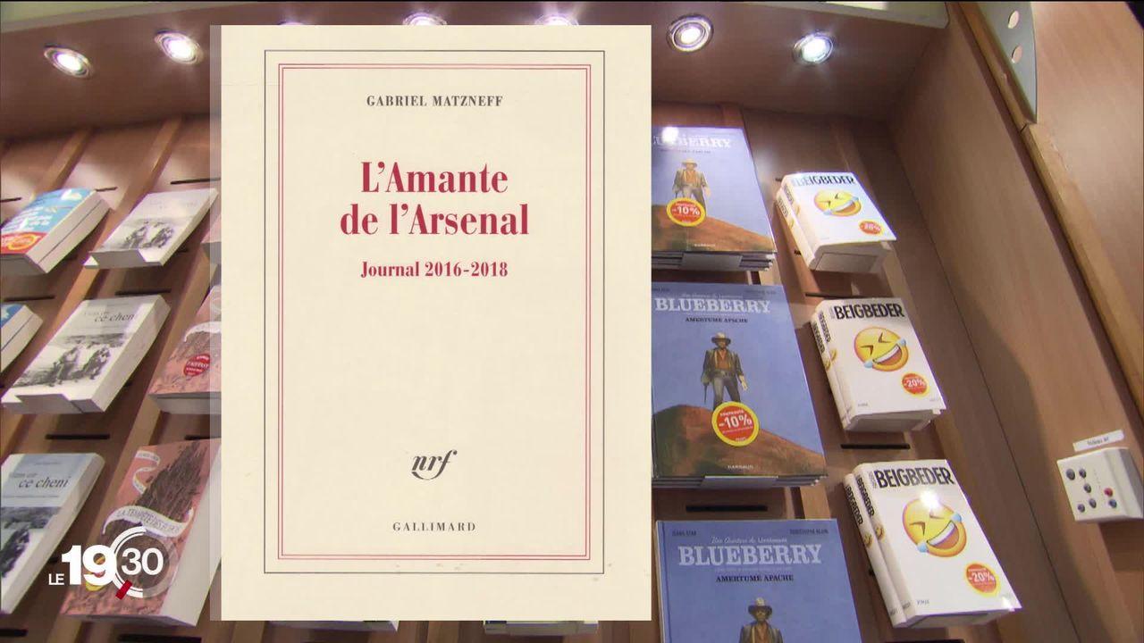 Décision grave et très rare: l'éditeur Gallimard retire de la vente le journal de l'écrivain Gabriel Matzneff. [RTS]