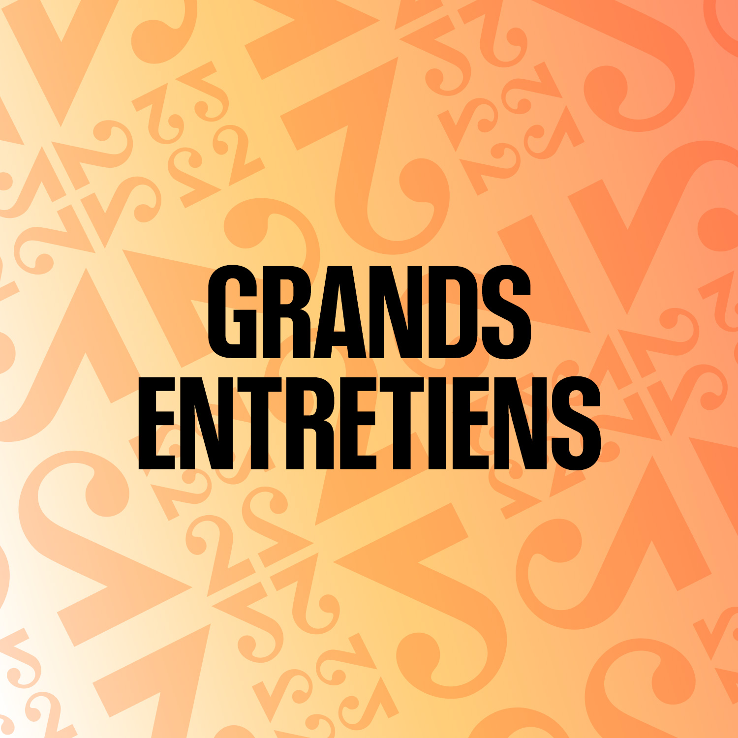 Logo podcast Grands Entretiens [RTS]