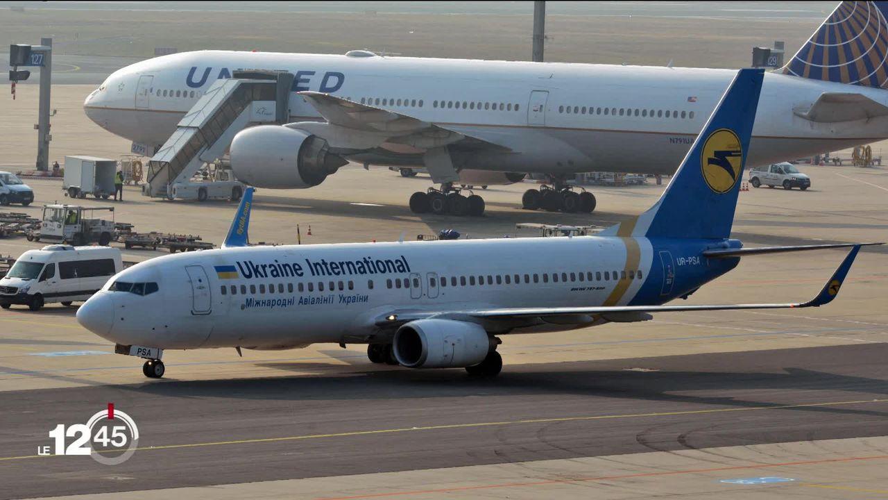 Crash à Téhéran d'un Boeing ukrainien peu après son décollage [RTS]